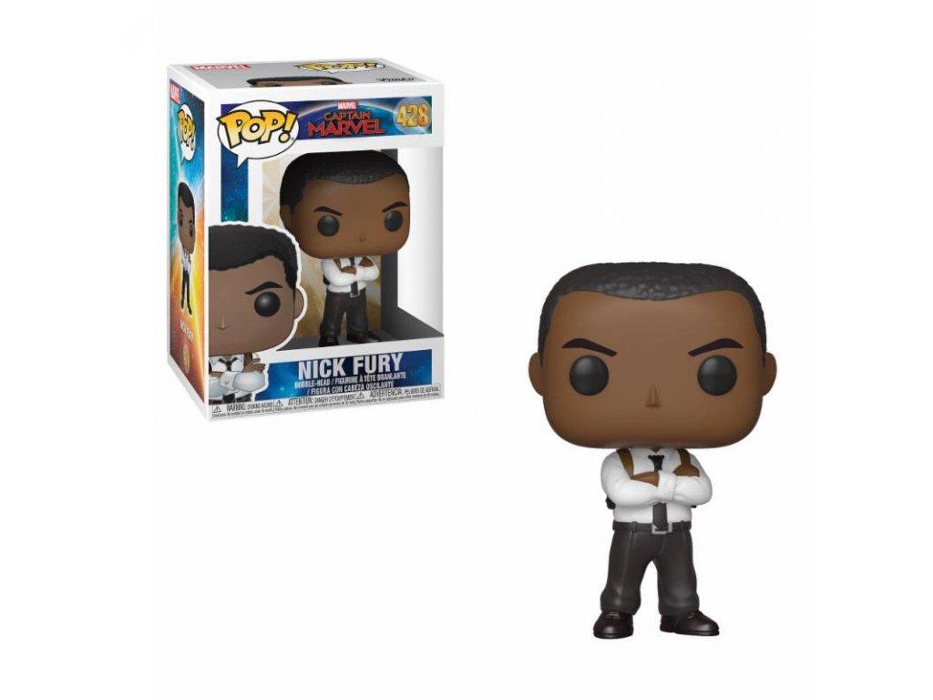 423680 1 figurka funko pop captain marvel marvel nick fury