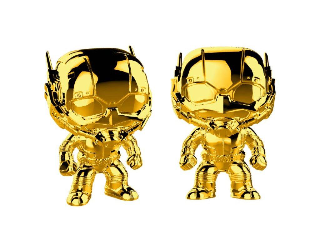 424235 figurka funko pop marvel studios 10 ant man chrome