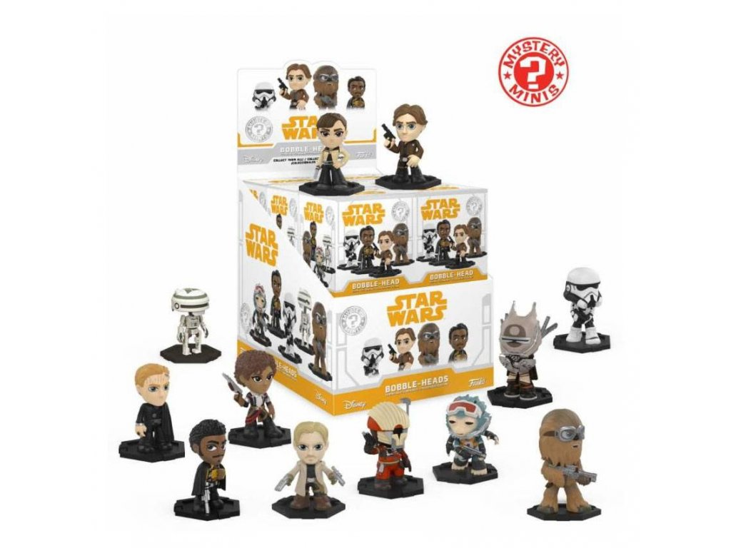 Star Wars Solo Mystery Mini Figures 6 cm Display (12)