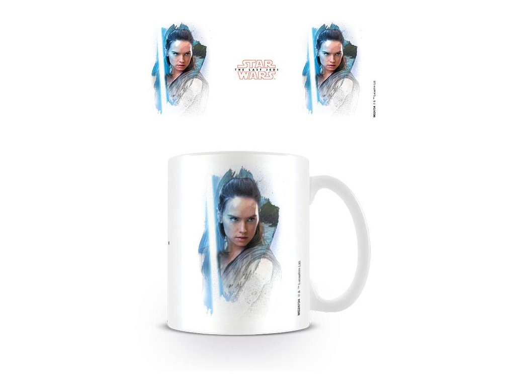 Star Wars Episode VIII Mug Rey Brushstroke