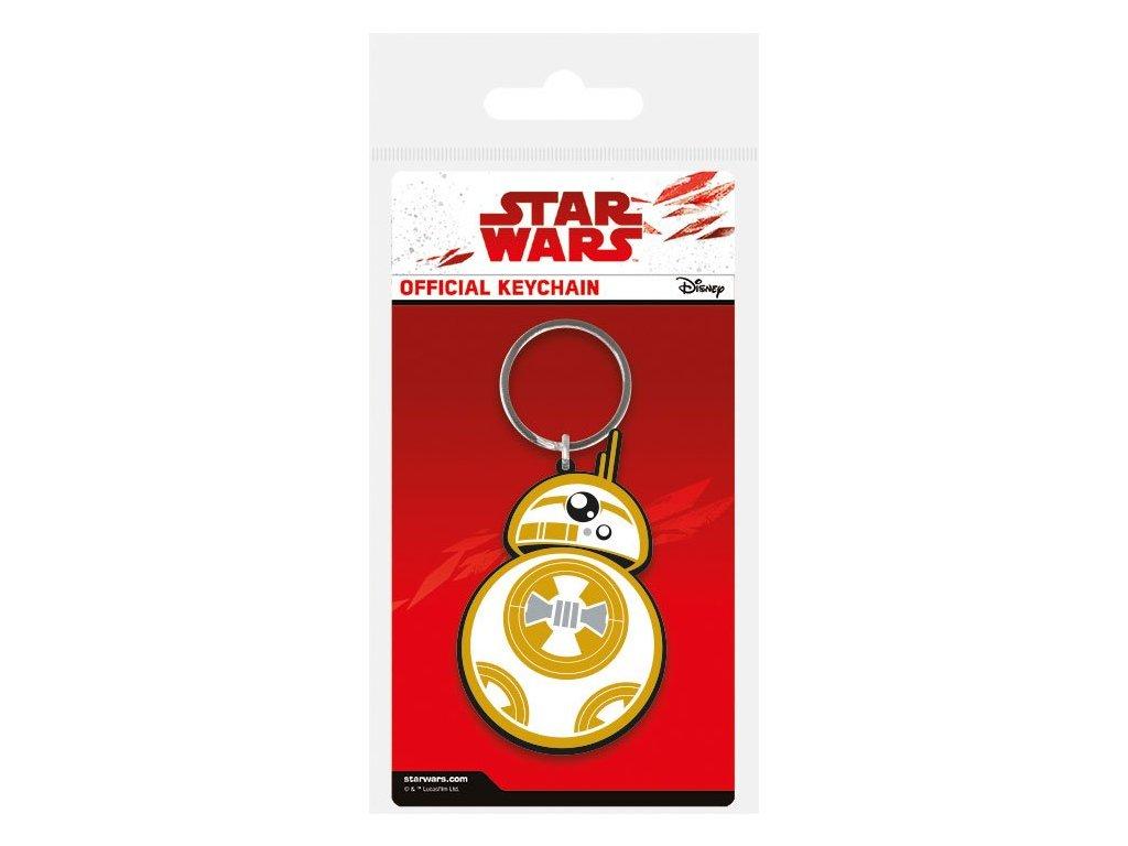 Star Wars Episode VIII Rubber Keychain BB-8 6 cm