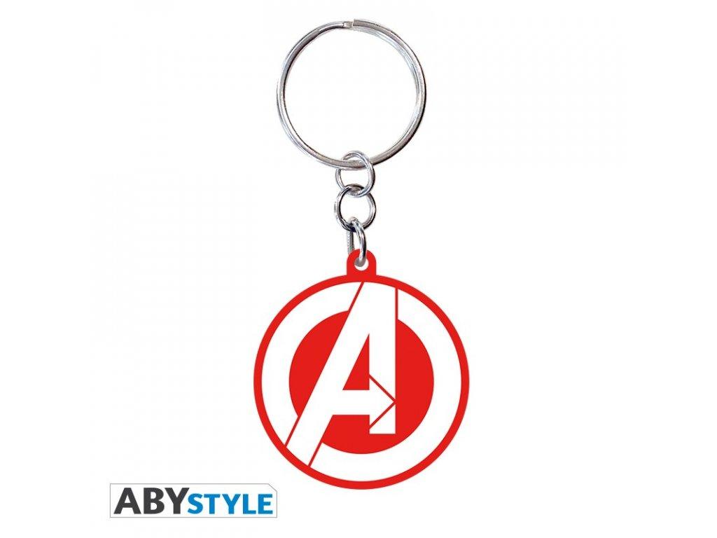 """MARVEL - Keychain PVC """"Avengers logo"""""""