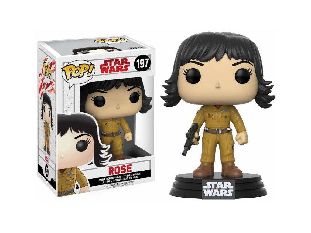 Funko POP! Star Wars Episode 8 The Last Jedi - Rose Bobble Head 10cm