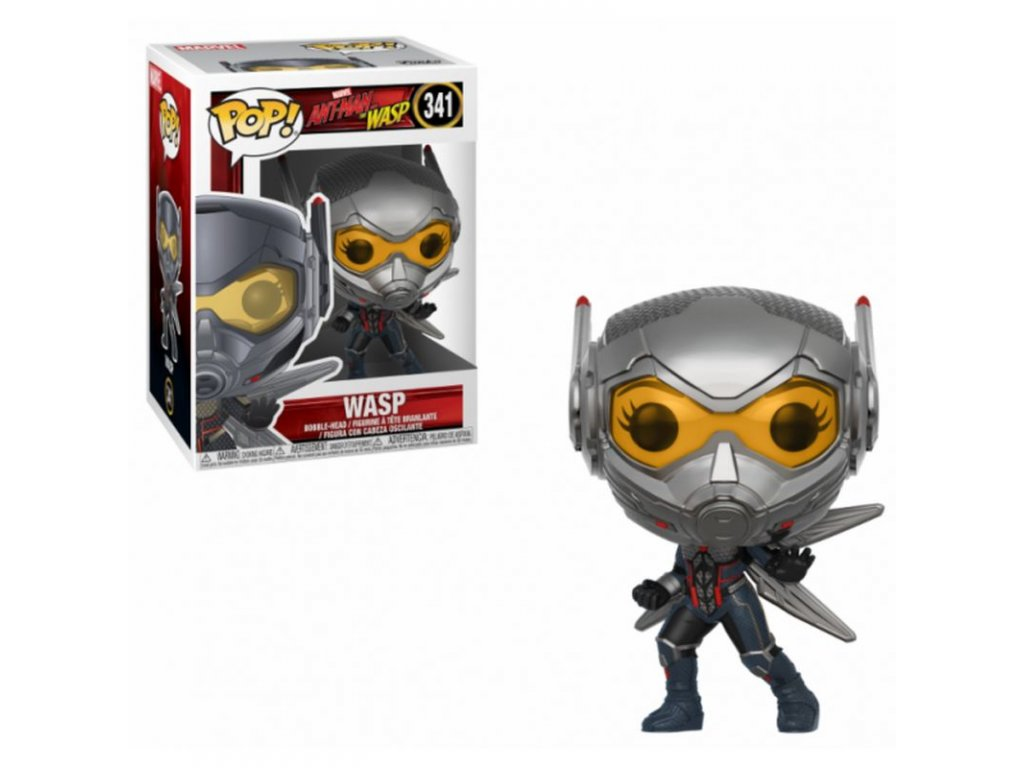 Ant-Man and the Wasp POP! Movies Vinyl Figures Wasp 9 cm