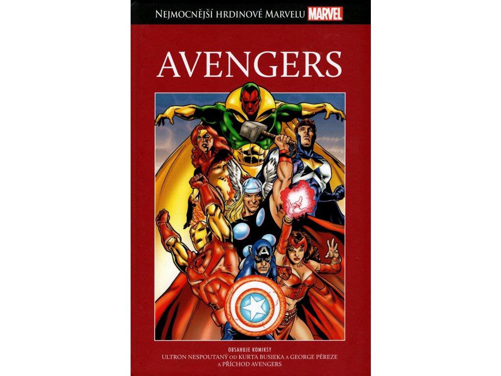 NHM Nejmocnější hrdinové Marvelu 1 Avengers