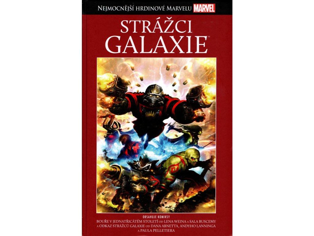 NHM Nejmocnější hrdinové Marvelu 14 Strážci galaxie