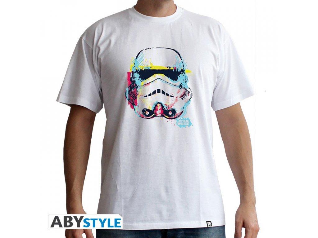 Tričko STAR WARS Stormtrooper bílé