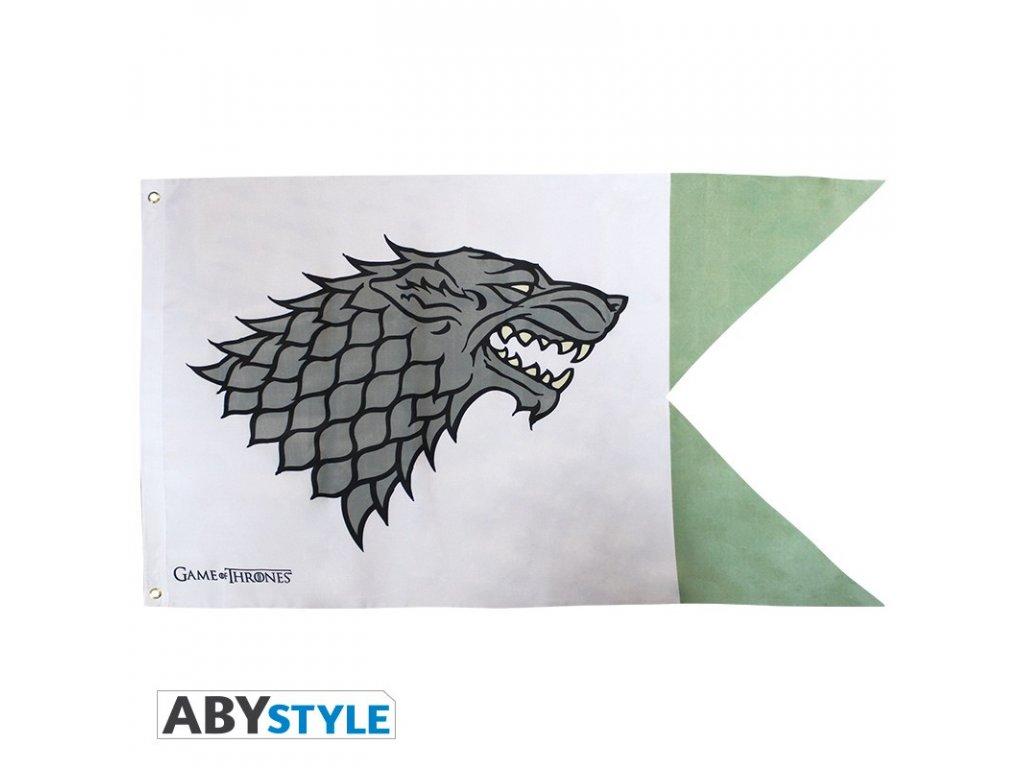 game of thrones flag stark 70x120