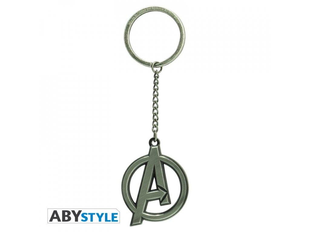 marvel keychain avengers emblem x4