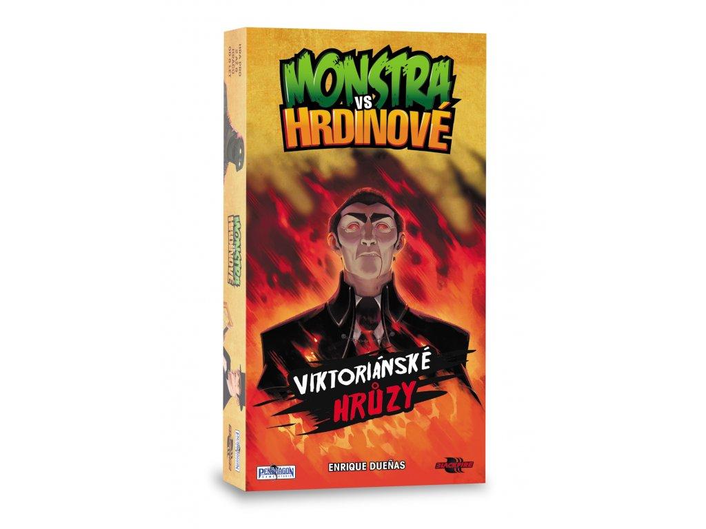 Monstra vs. Hrdinové: Viktoriánské hrůzy