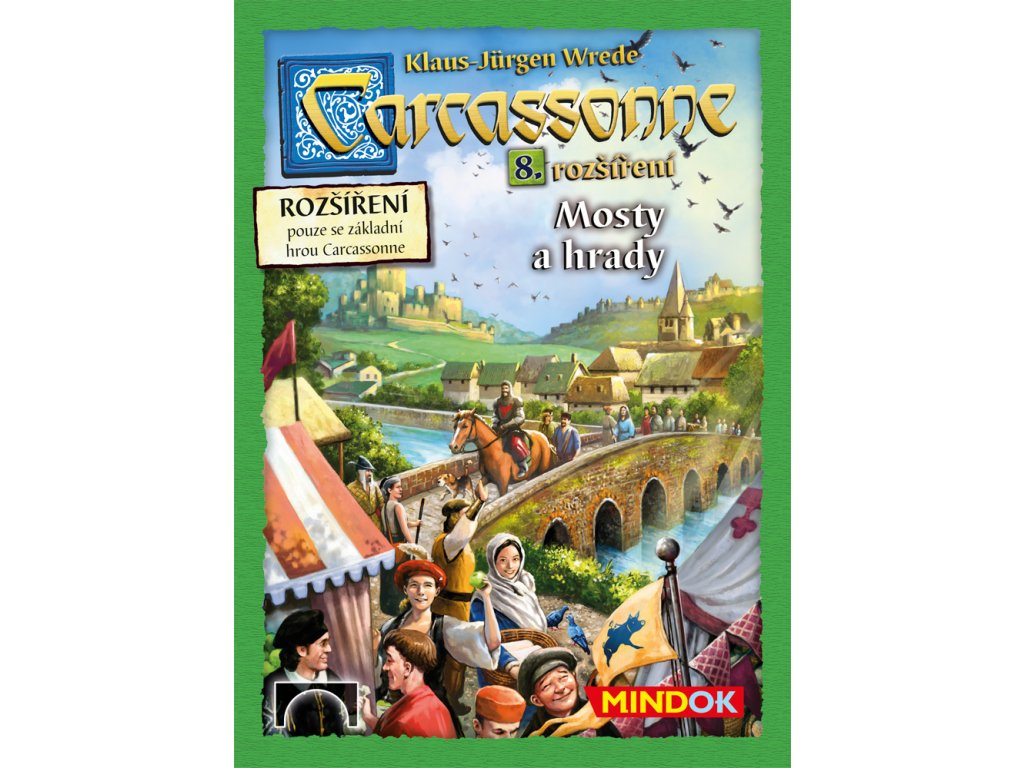 Carcassonne rozšíření 8 Mosty a hrady