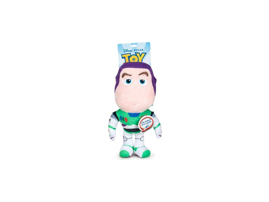Plyšák Buzz Lightyear se zvukem [Anglicky]