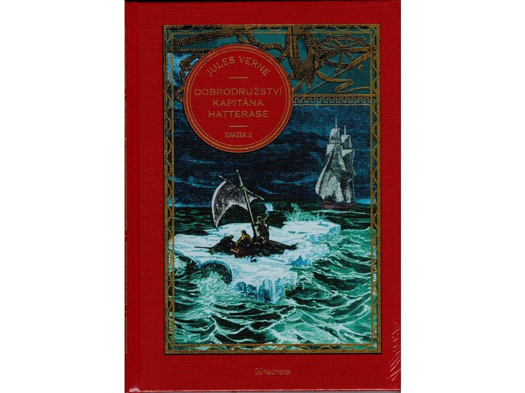 Jules Verne kolekce knih 26: Dobrodružství kapitána Hatterase svazek 2