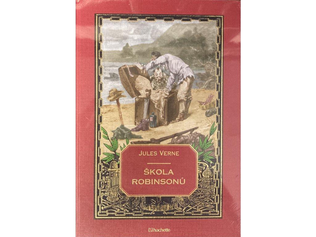 Jules Verne kolekce knih 27: Škola robinsonů