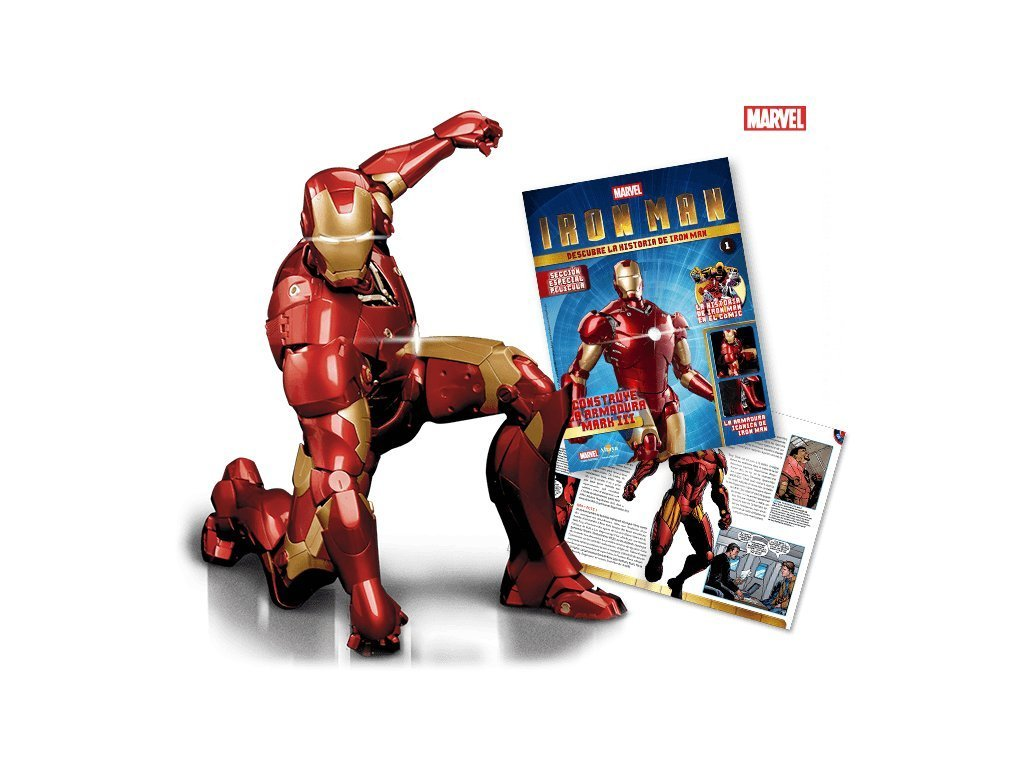 Figurka Iron Man De AGOSTINI 25