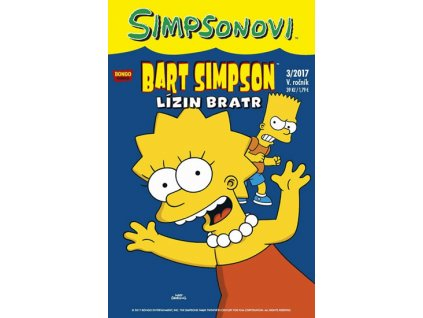 Simpsonovi - Bart Simpson 03/2017 - Lízin bratr