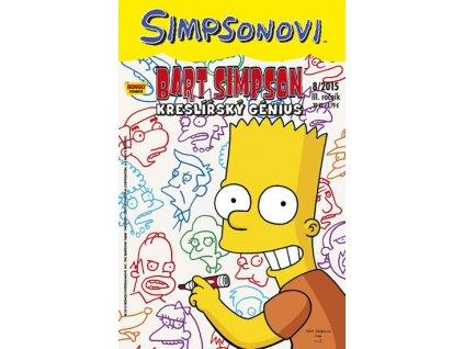 Simpsonovi - Bart Simpson 8/2015 - Kreslířský génius