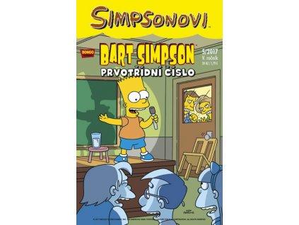 Simpsonovi - Bart Simpson 5/2017 - Prvotřídní číslo