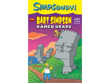 Simpsonovi - Bart Simpson 6/2017 - Kámen úrazu