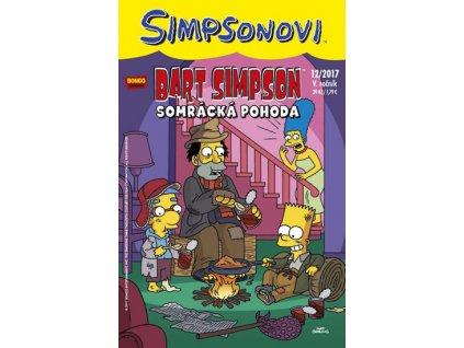 Simpsonovi - Bart Simpson 12/2017: Somrácká pohoda