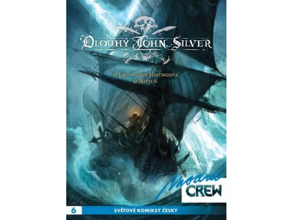 Modrá CREW 6 - Dlouhý John Silver 1+2