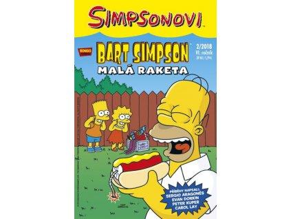 Simpsonovi - Bart Simpson 2/2018 - Malá raketa