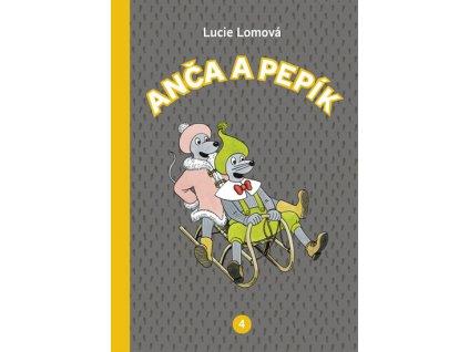Anča a Pepík 4 - komiks