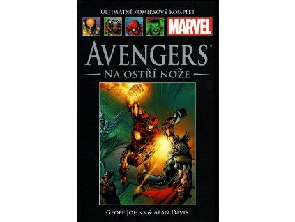 UKK Ultimátní Komiksový Komplet 28 Avengers Na ostří nože