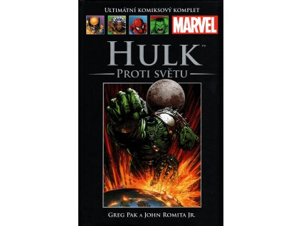 UKK Ultimátní Komiksový Komplet 54 Hulk Proti světu