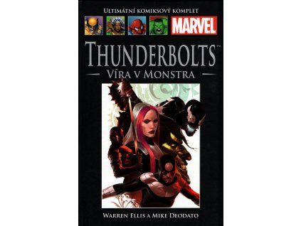 UKK Ultimátní Komiksový Komplet 55 Thunderbolts Víra v monstra