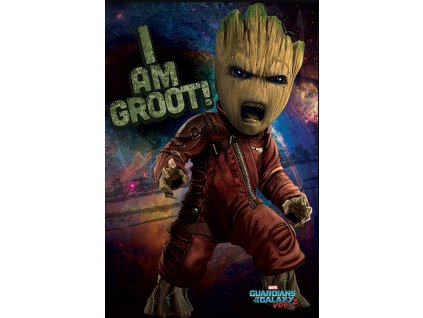 Plakát GUARDIANS OF THE GALAXY 2/ANGRY