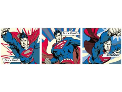 Plakát SUPERMAN/POP ART TRIPTYCH
