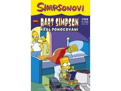 Simpsonovi - Bart Simpson 7/2018 - Král ponocování