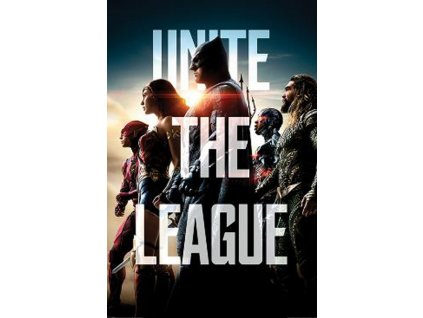 Plakát JUSTICE LEAGUE/UNITE THE LEAGUE