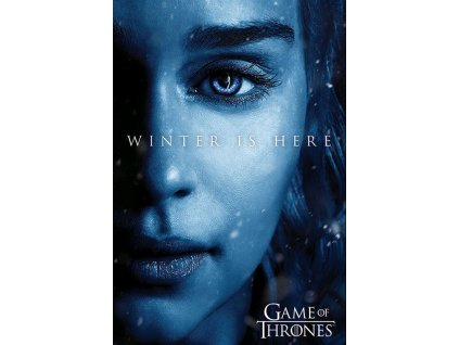Plakát WINTER IS HERE/DAENERYS/150 g