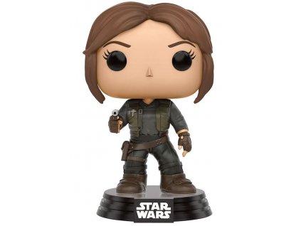 414650 1 figurka funko pop star wars rogue one jyn erso trooper