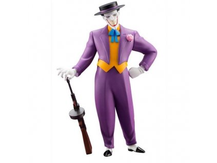 414782 dc universe batman the animated series the joker artfx 1 10 pvc statue 17cm