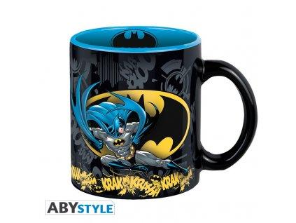 dc comics mug 320 ml batman action with box x2