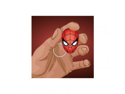 marvel marvel comics spiderman led torch keychain