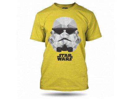 tricko stormtrooper zlute panske