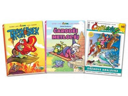 Vánoce se Čtyřlístkem - komplet 2 knihy + časopis