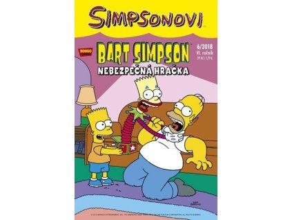 Simpsonovi - Bart Simpson 8/2018 - Nebezpečná hračka
