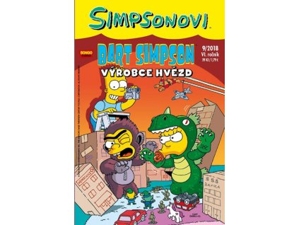 Simpsonovi - Bart Simpson 9/2018 - Výrobce hvězd