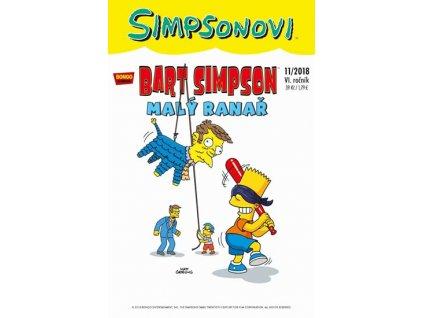 Simpsonovi - Bart Simpson 11/2018 - Malý ranař