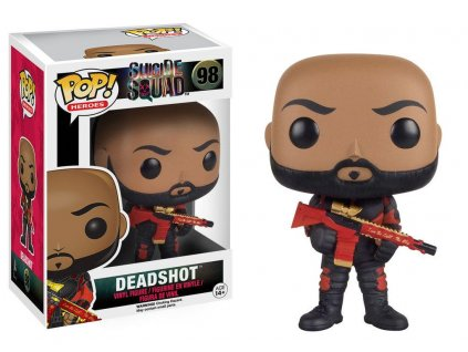Funko POP! Movies Suicide Squad - Deadshot Vinyl Figure 9 cm