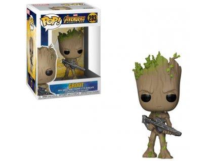 Avengers Infinity War POP! Movies Vinyl figurka Groot 9 cm