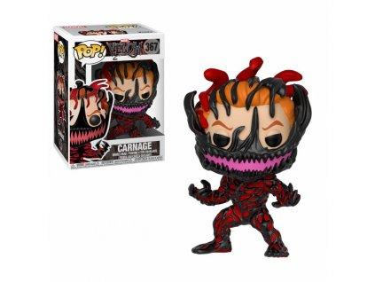 Venom POP! Marvel Vinyl Bobble-Head Carnage 9 cm