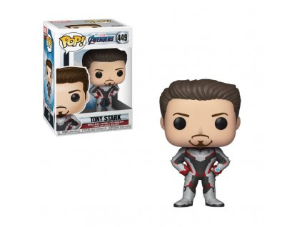 Avengers Endgame POP! Movies Vinyl figurka Tony Stark 9 cm