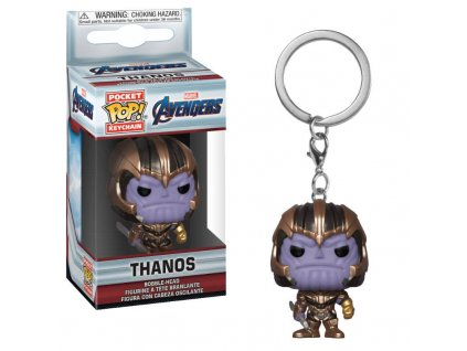 Avengers Endgame Pocket POP! Vinyl klíčenka Thanos 4 cm