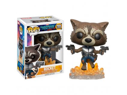 Funko POP! Marvel - Guardians of the Galaxy vol. 2 ROCKET BLASTING Vinyl Figure 10cm